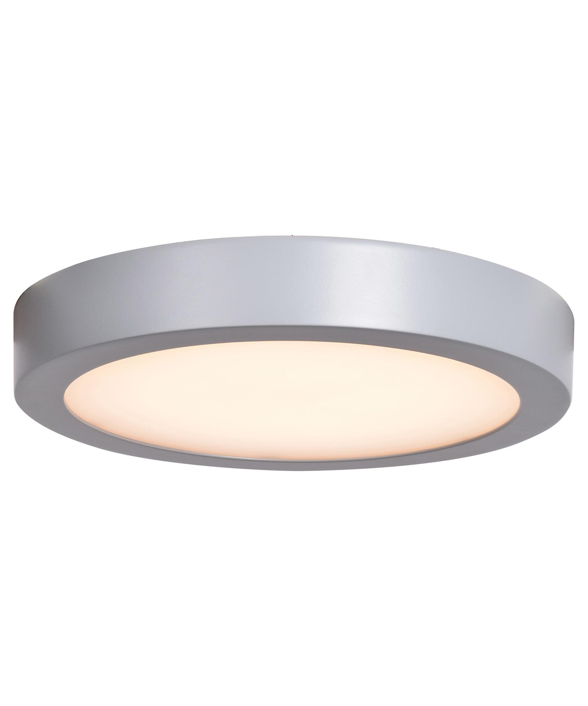 Access lighting 20072LEDD-BRZ-ACR 1 x 9 in. Ulko Exterior LED Wet Location Flush Mount Bronze & Acrylic Lens