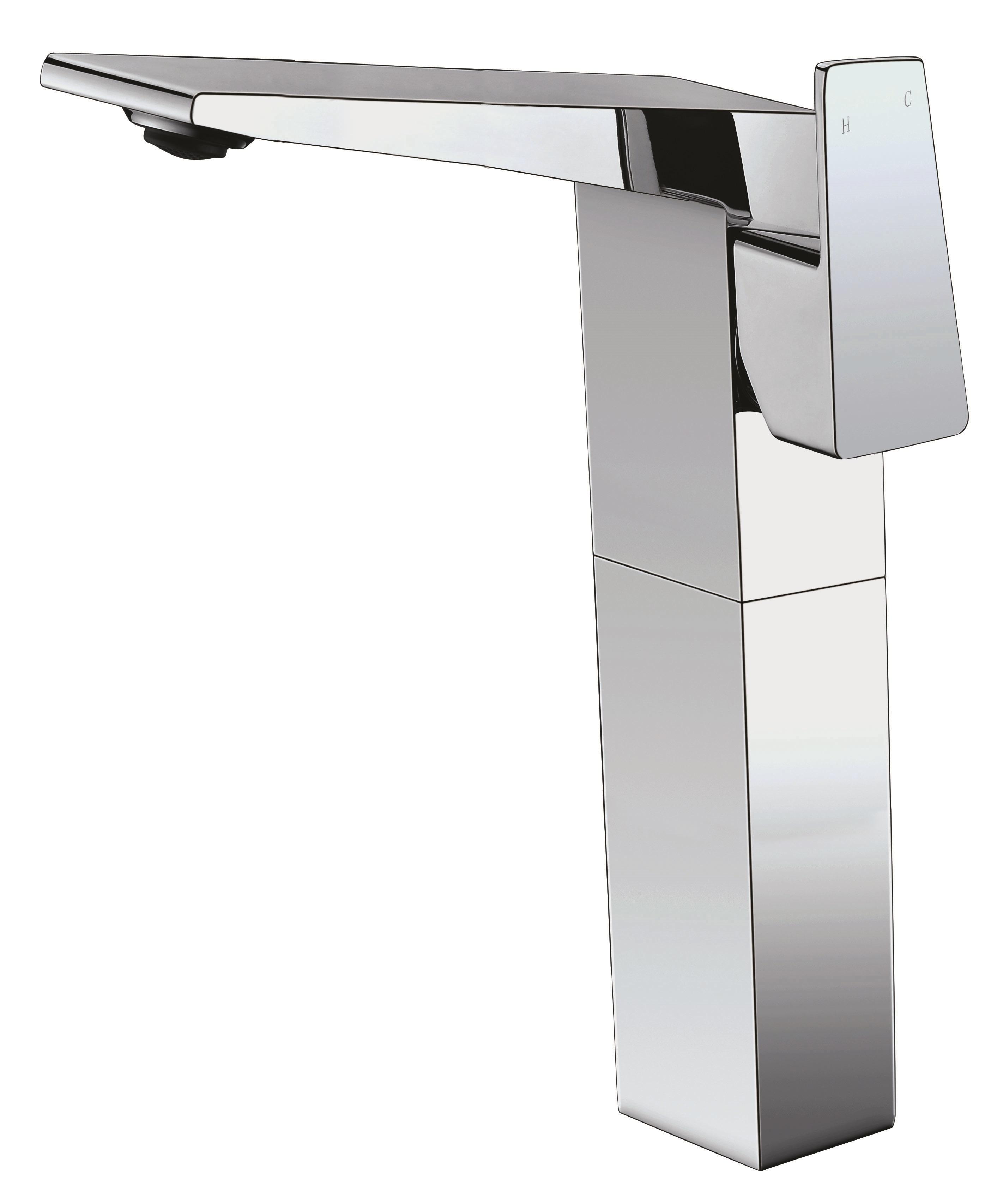 ALFI Brand AB1475-PC Polished Chrome Single Hole Tall Bathroom Faucet