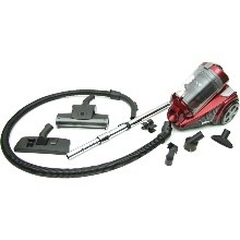Atrix International AHC-RR Revo Red Bagless HEPA Canister Vacuum