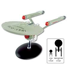 B2B Replicas EAGST04 Eaglemoss Star Trek USS Enterprise