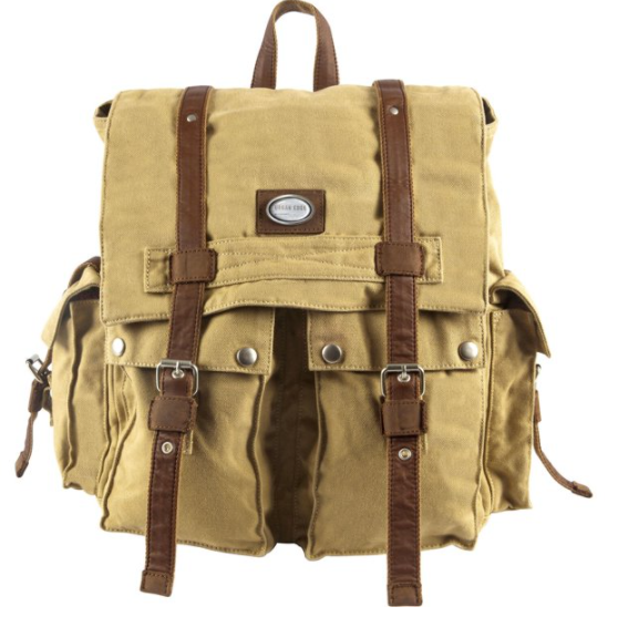 Canyon Outback Leather SC203P Cruz Canvas Backpack