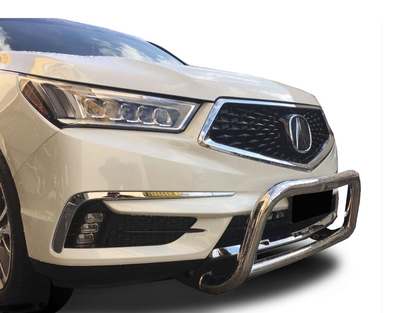 Broadfeet DCAC-115-32 2017-2019 Acura MDX Sport Stainless Steel A-Bar & Nudge Bar