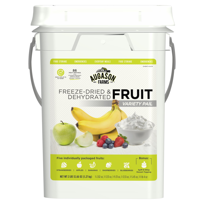 Augason Farms 5-20490 4 gal Fruit Variety Bucket Kit