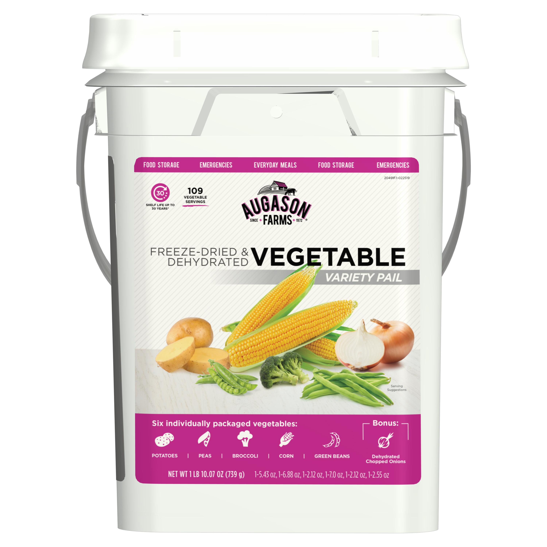 Augason Farms 5-20491 4 gal Vegetable Variety Bucket