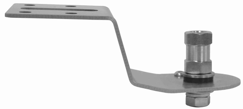 Kalibur KF3-L Stainless Steel Left Side Antenna Fender Mount Fender Mount for 2011-2014 F350 & 2012 F250 Ford Pickups