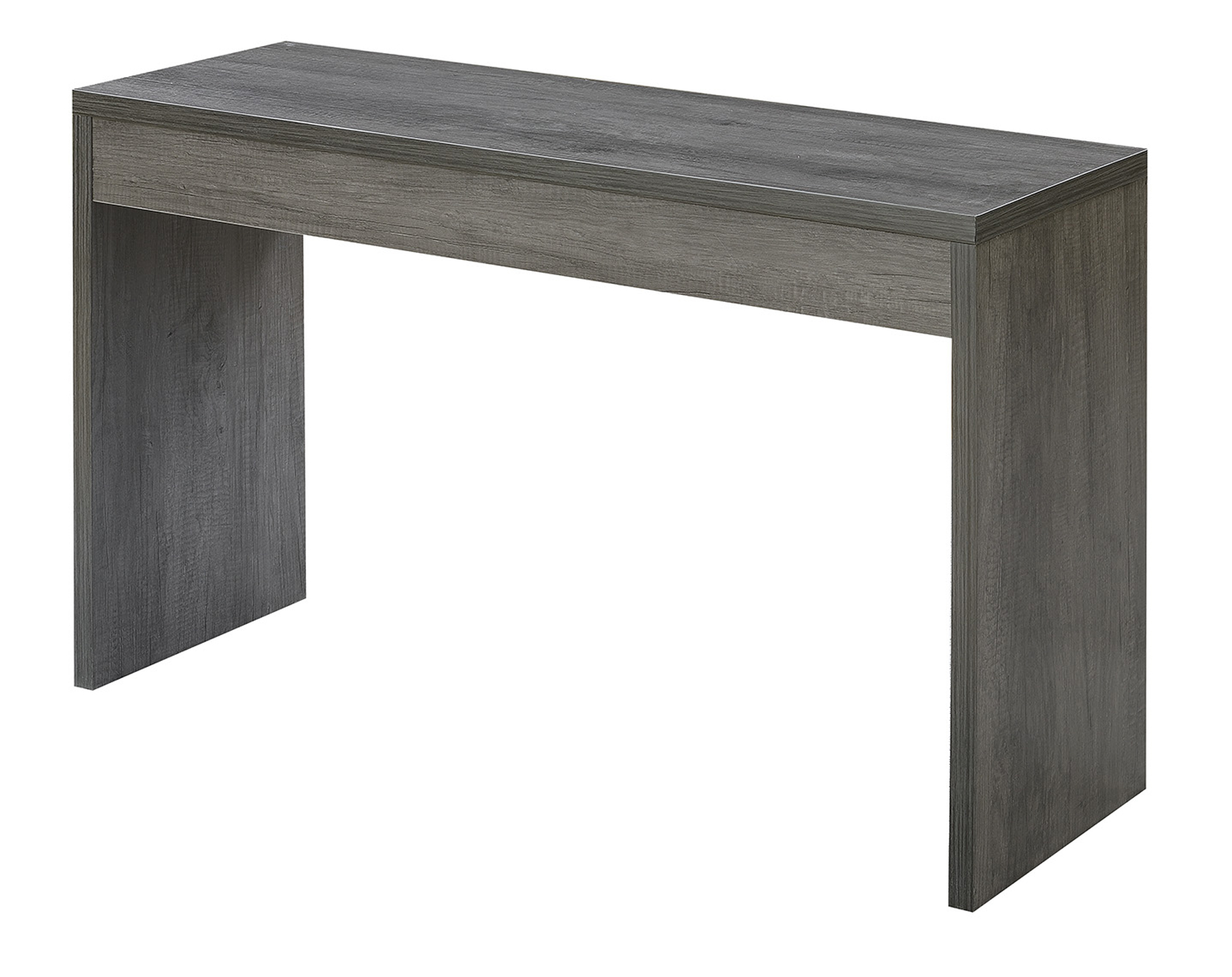 Convenience Concepts 111091WGY Northfield Hall Console Table, Weathered Grey