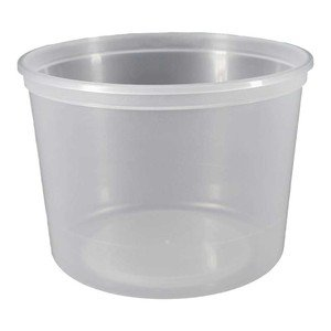 Plastic Packaging Corporation 02CL6400 Container Natural Plastic - Case Of 200, 5 Gallon