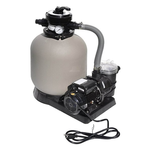 Tianjin Pool & Spa 11315 14 in. Sand Filter Above Ground Pool System with 13 HP Pump