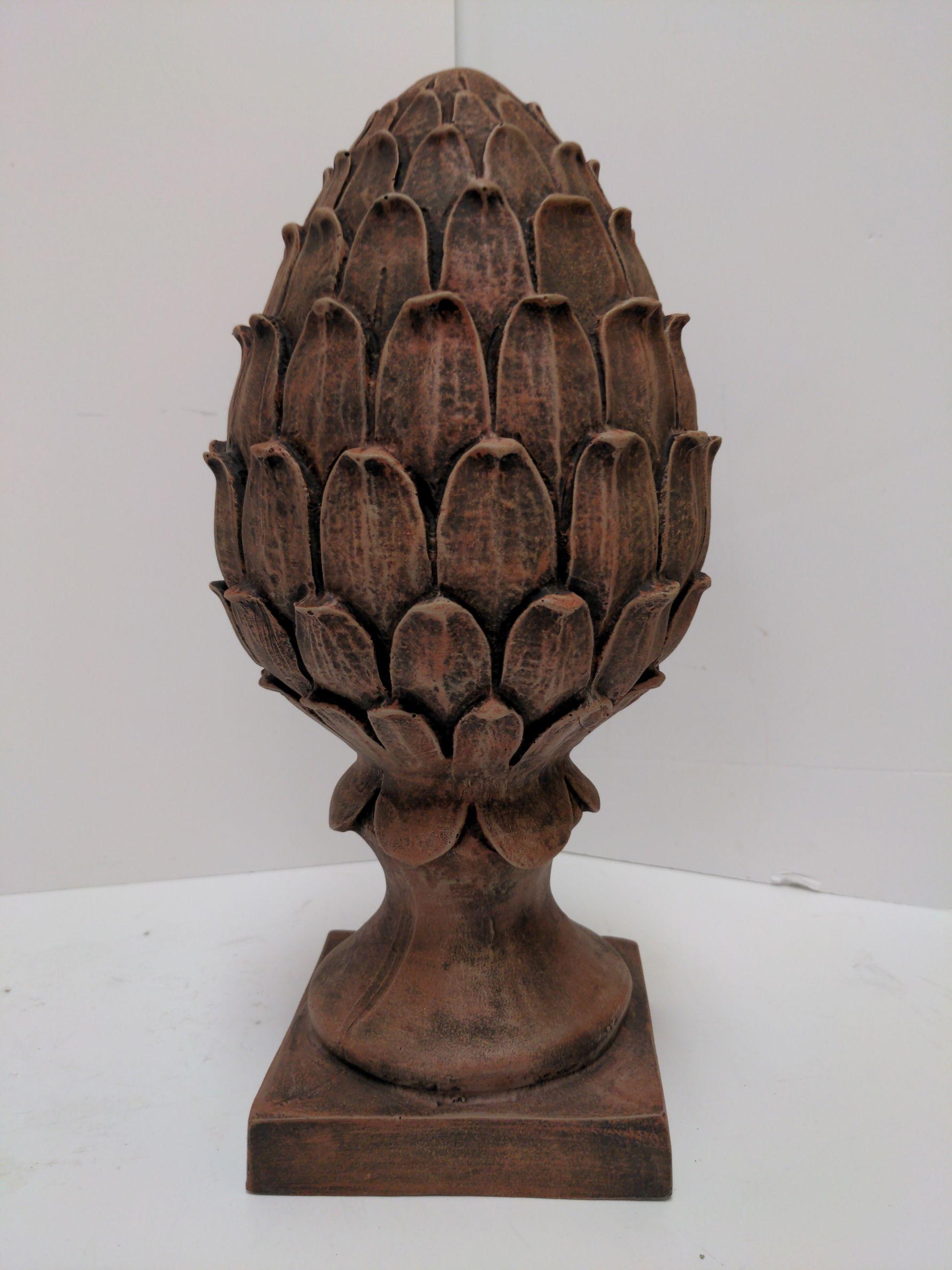 Craft-Tex 6310B Pineapple Finial Statue Brick
