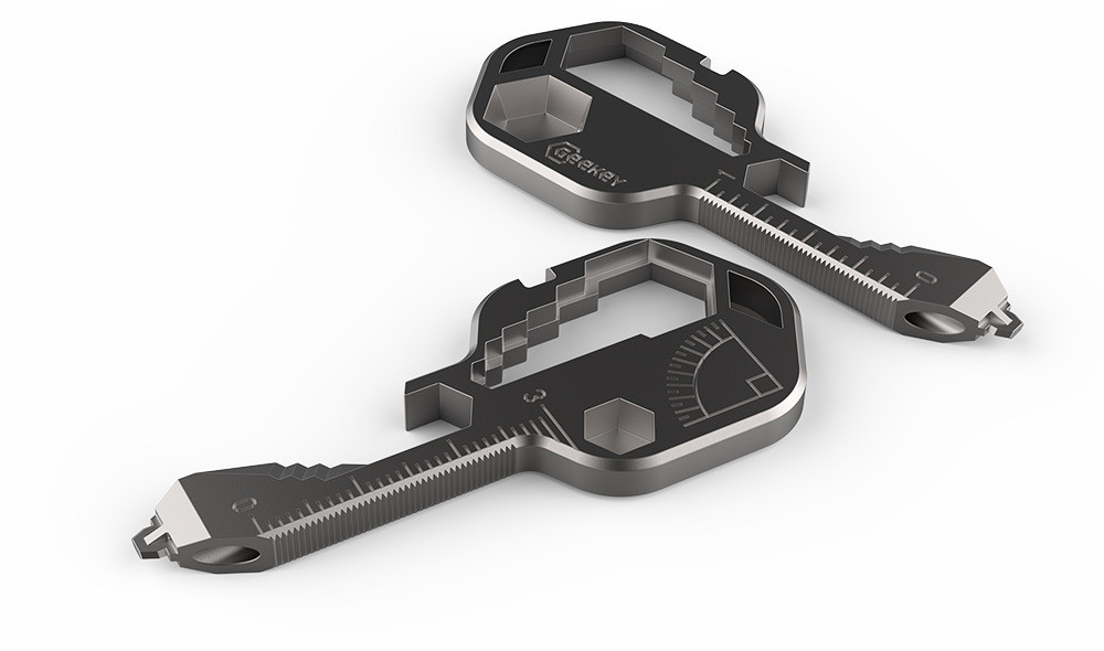Image of 3P Experts 3PX-Geekey 420 Stainless Steel Multi Key Tool