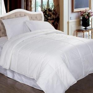 Twin Signature Down Alternative Comforter - White