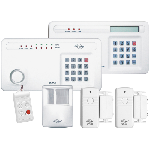 SKSC100 Wireless Security Deluxe Security System
