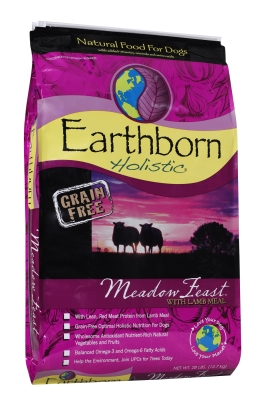 Midwestern Pet Food PF71912 Earthborn Holistic Meadow Feast Dog, 28 lbs.