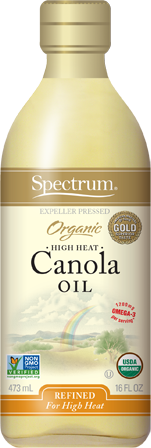 Naturals 32 Ounce Organic Refined Canola Oil