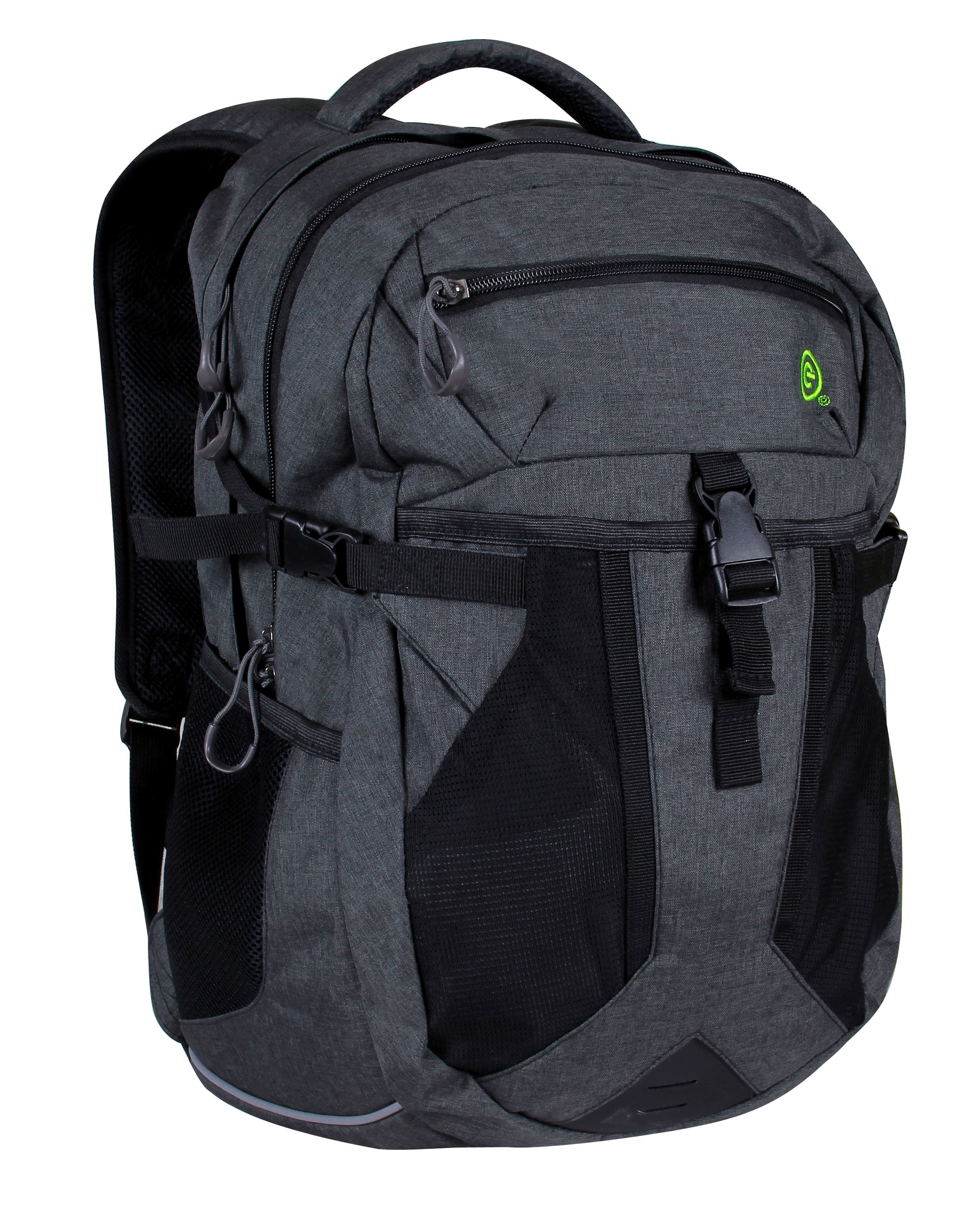 Ecogear BGR-0221-HG Rolling Dhole Backpack, Heather Grey