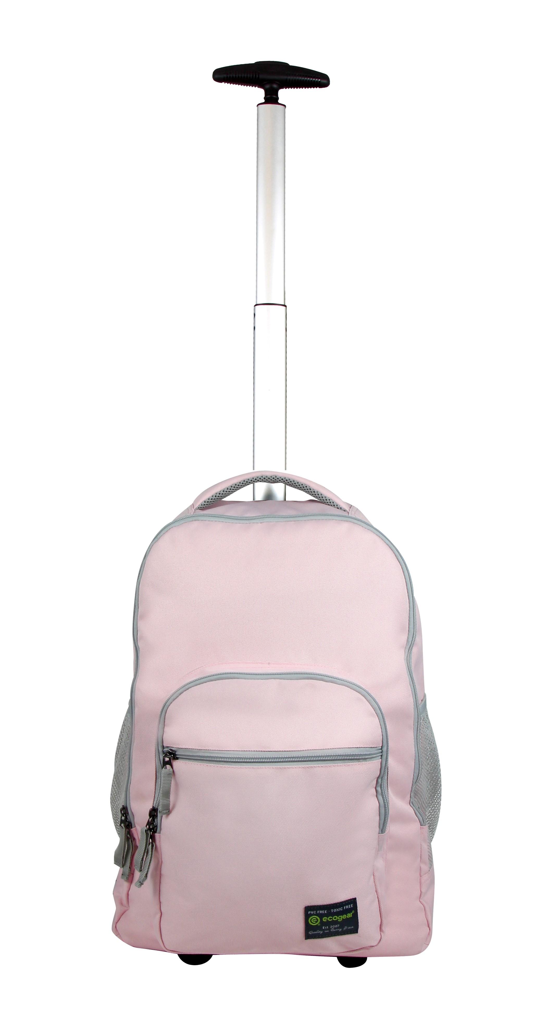 Ecogear BGR-0221-BP Rolling Dhole Backpack, Blush Pink