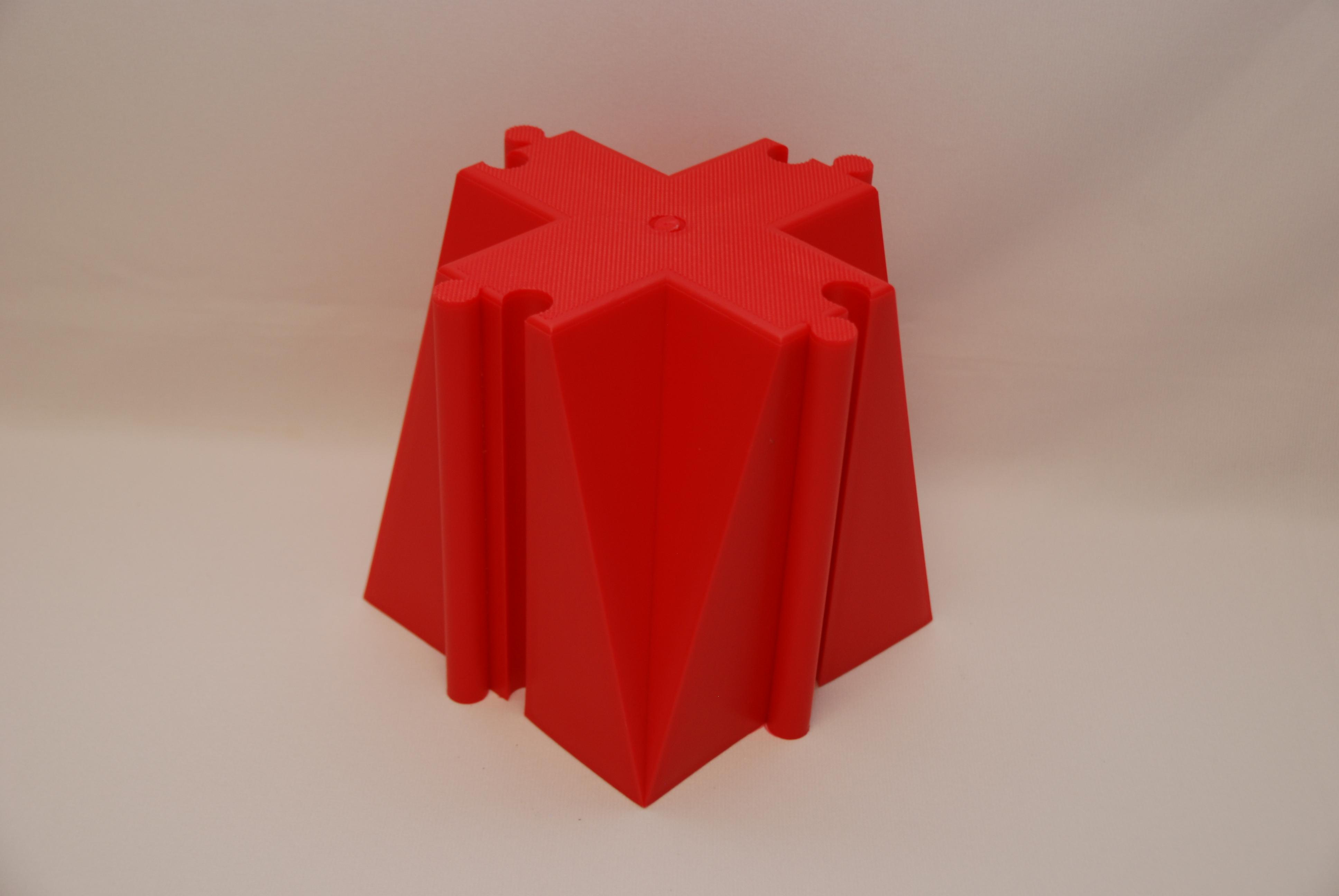 Everrich EVB-0066-2 Interconnector of Balance Beam - Red