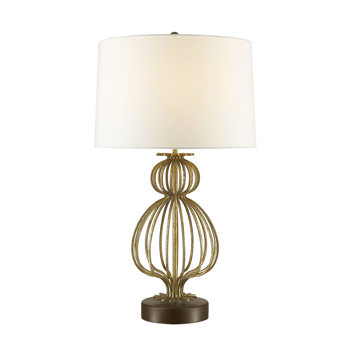 Gilded Nola TLM-1007 27 in. Lafitte Table Lamp