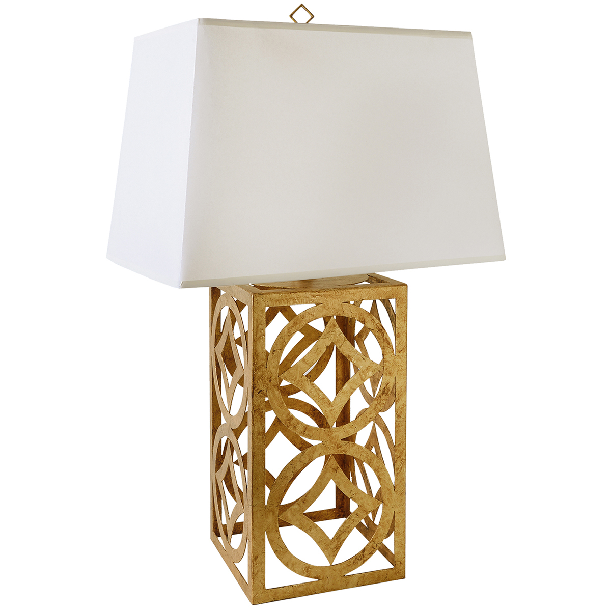 Gilded Nola TLM-1032 Lee Circle Table Lamp