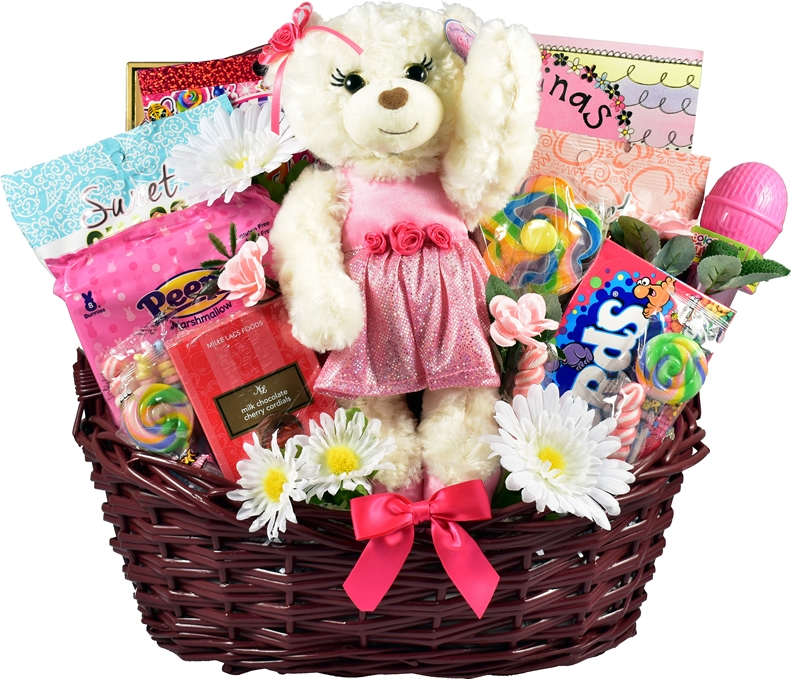 Gift Basket Village EaDe Easter Decadence Easter Basket