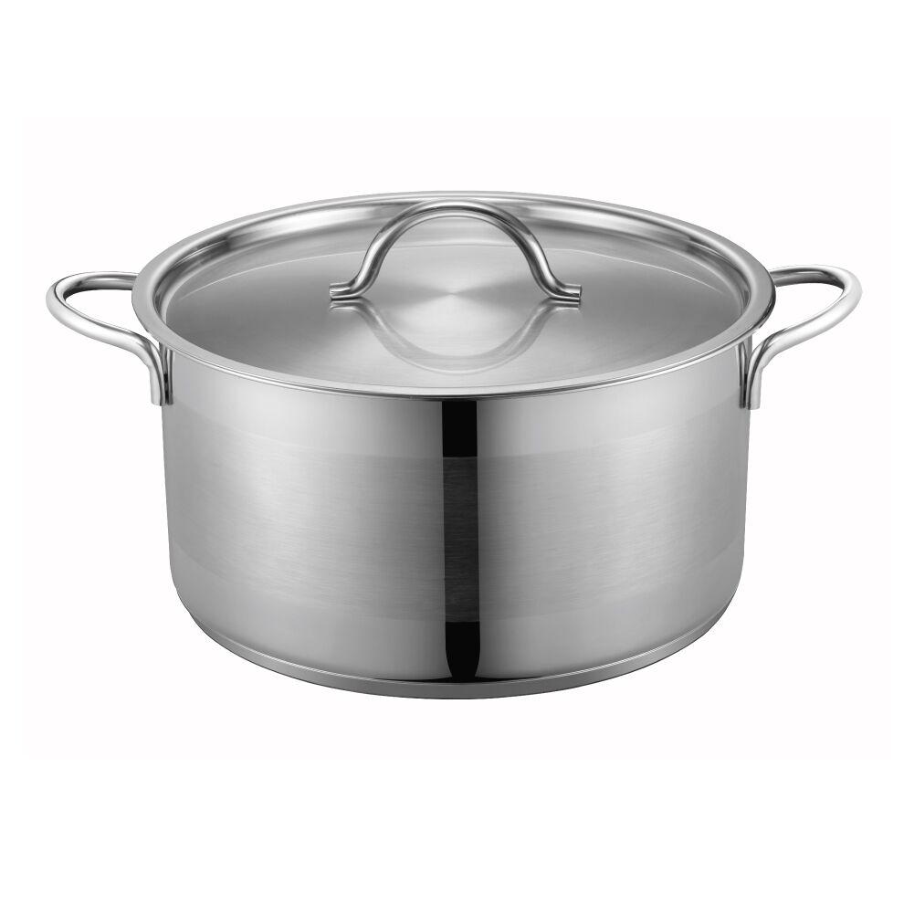 PN Poong Nyun LUCE24CMDEEP 24 cm Luce Stainless Steel Deep Pot