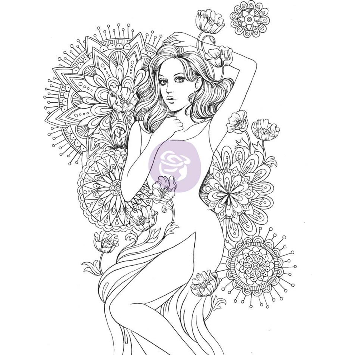 Prima Marketing 591045 Charlotte - Prima Princess Stamp