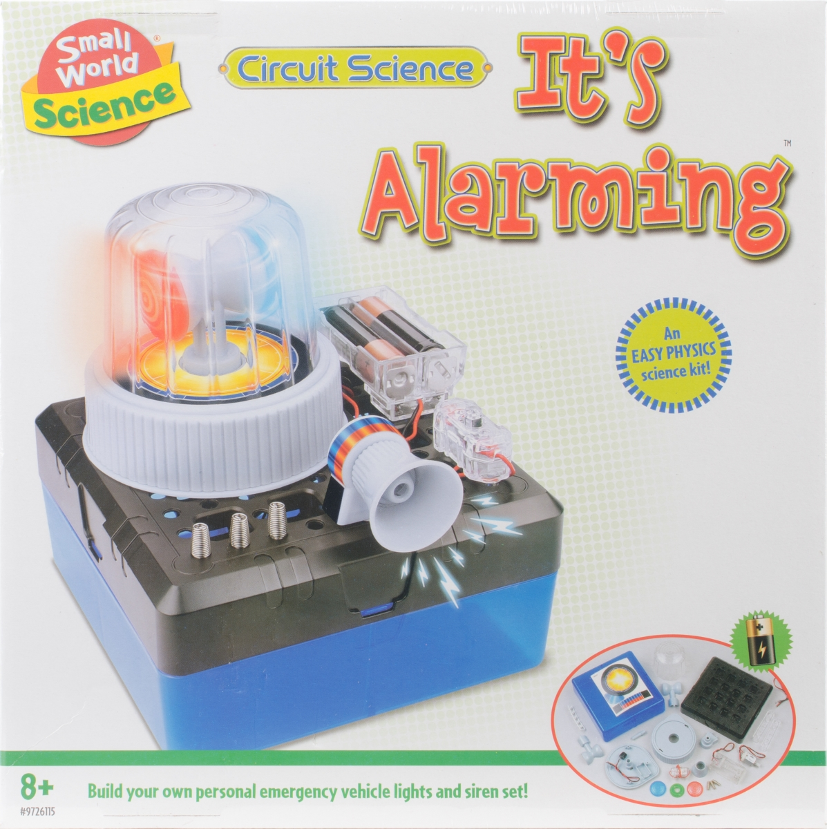 Small World Toys 9726115 Circuit Science Alarm NMG350062