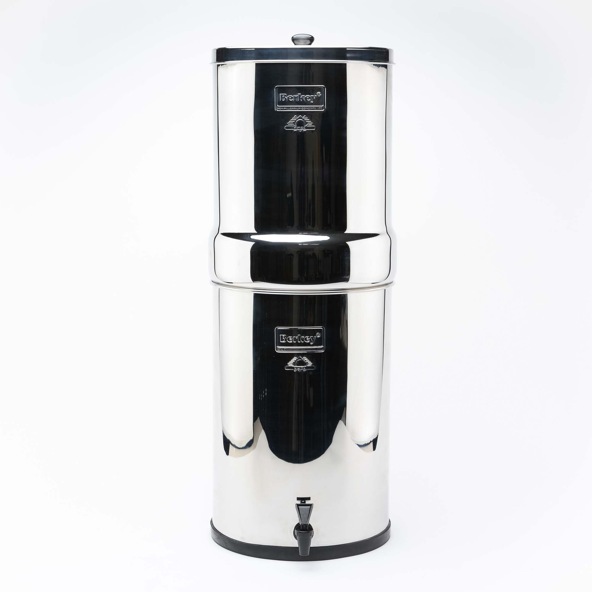 Berkey CRN8X2-BB Crown Berkey 6 Gal. Water Purifier with 2 filters