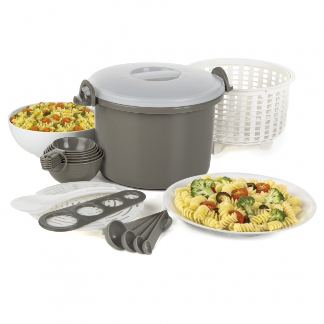 Progressive PS-97GY Microwave Rice & Pasta Cooker