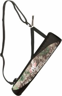 October Mountain Products 78786 OMP No Spill Hip – Back Tube Quiver Camo Right – Left Hand