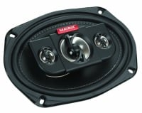 Blaupunkt GTX690 6 x 9 in. 4-Way Coaxial Car Speakers, 450W