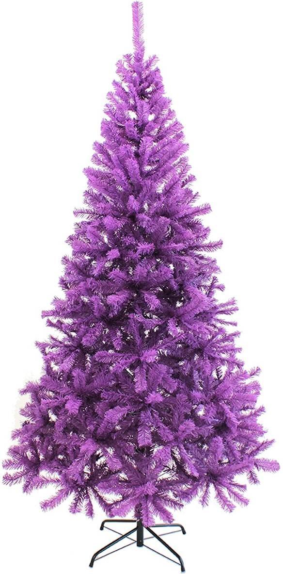 The Perfect PVC-4PR 4 ft. PVC Christmas Tree, Purple