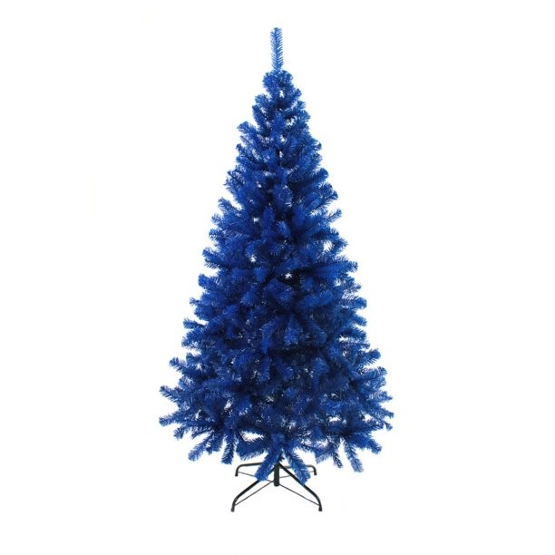 The Perfect PVC-5B 5 ft. PVC Christmas Tree, Blue