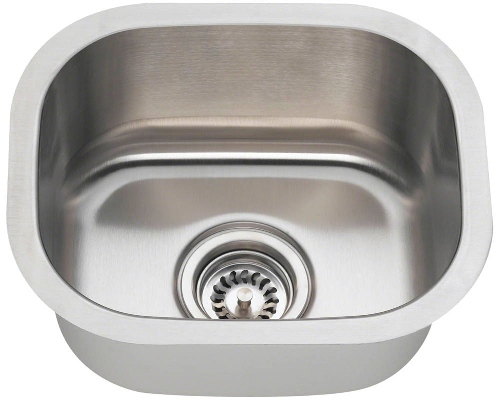 Polaris p2151-16 Stainless Steel Bar Sink
