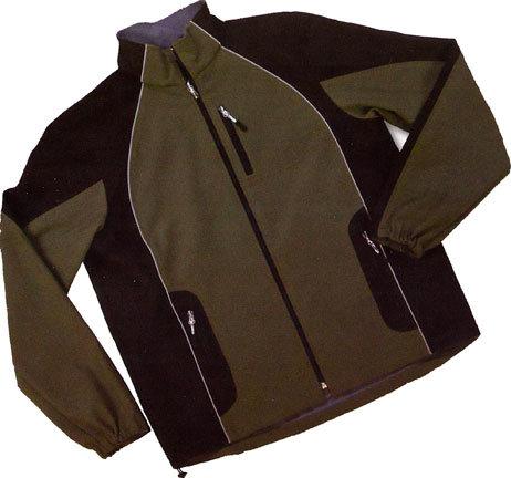 Dutch Harbor Gear SS604-2X Lofall Reflective Soft Shell 2XL Jacket, Black & Charcoal