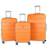 American Green Travel LG2020-3E ORG Plateau TSA Luggage Set - Orange, 3 Piece