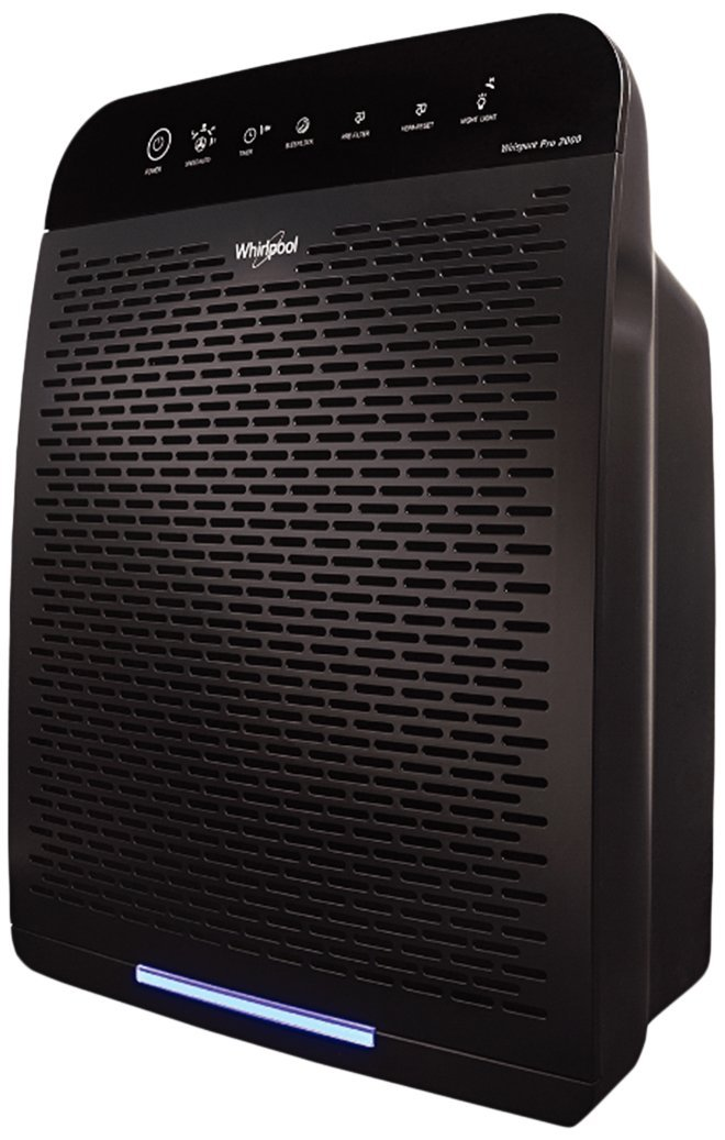 Whirlpool WPPRO2000B Whispure Air Purifier Slate Black RMNTR010