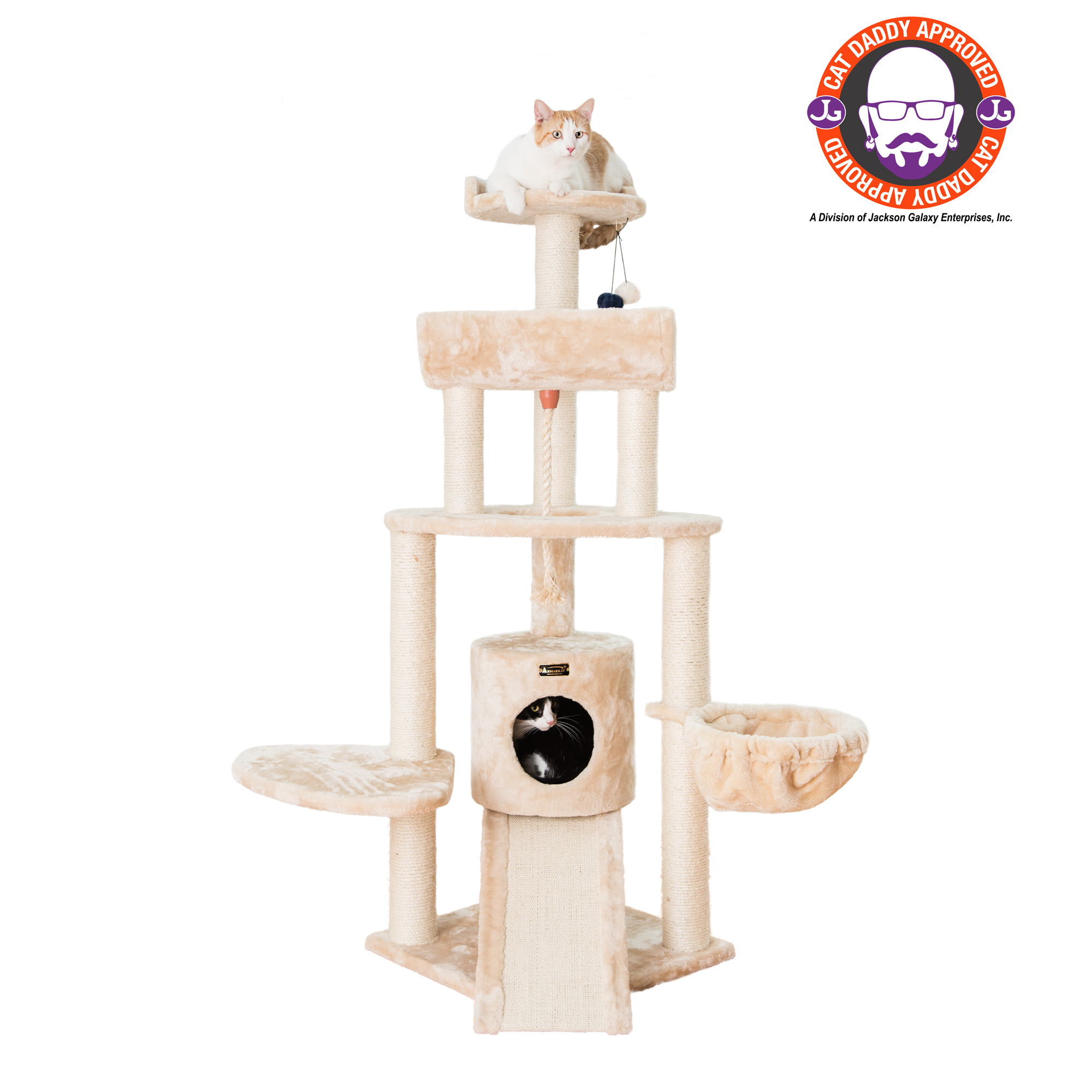 Image of AeroMark International A5806 Armarkat Cat Tree Beige