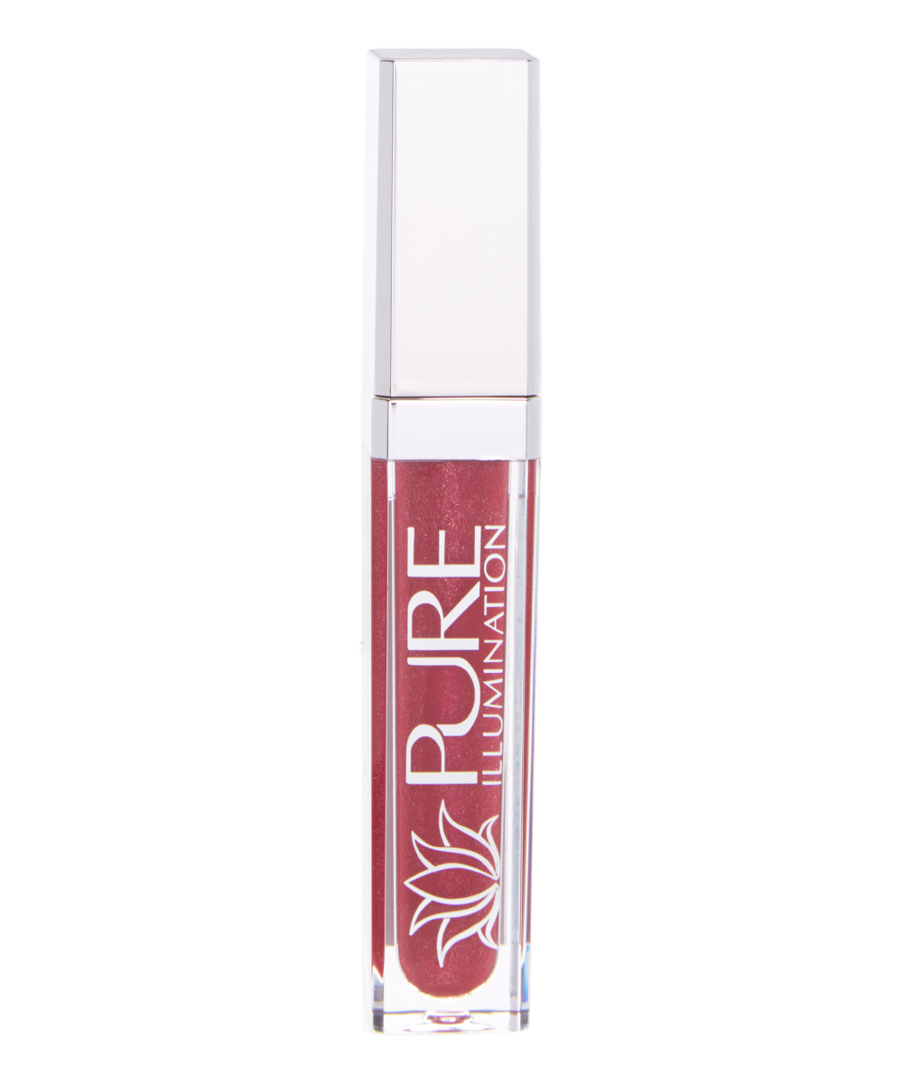 The Lano Company 8966Raging Red Illumination Lip Gloss with LED Twist Top Light & Side Mirror