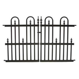Specrail Roxbury 24G Aluminum Garden Fence Gate