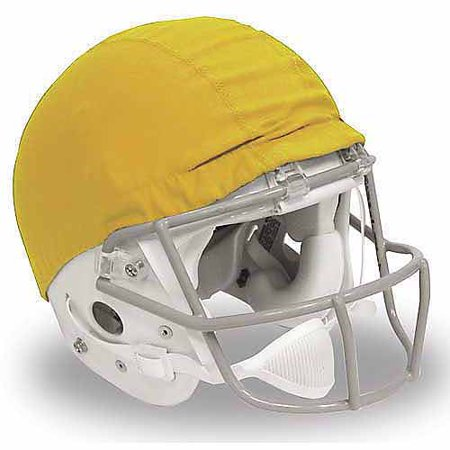 Alleson Athletic 1071955 Scrimmage Helmet Covers, Gold - Pack of 12