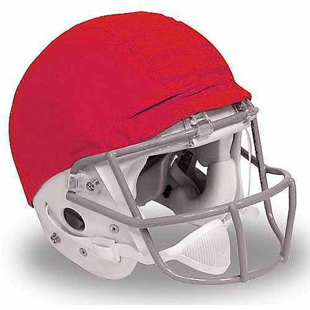 Alleson Athletic 1071993 Scrimmage Helmet Covers, Scarlet - Pack of 12
