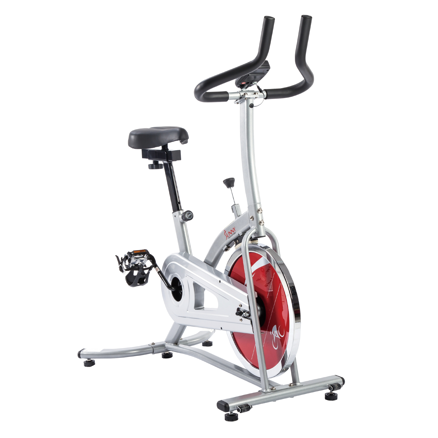 Sunny Health & Fitness SF-B1203 Indoor Cycling Bike Black