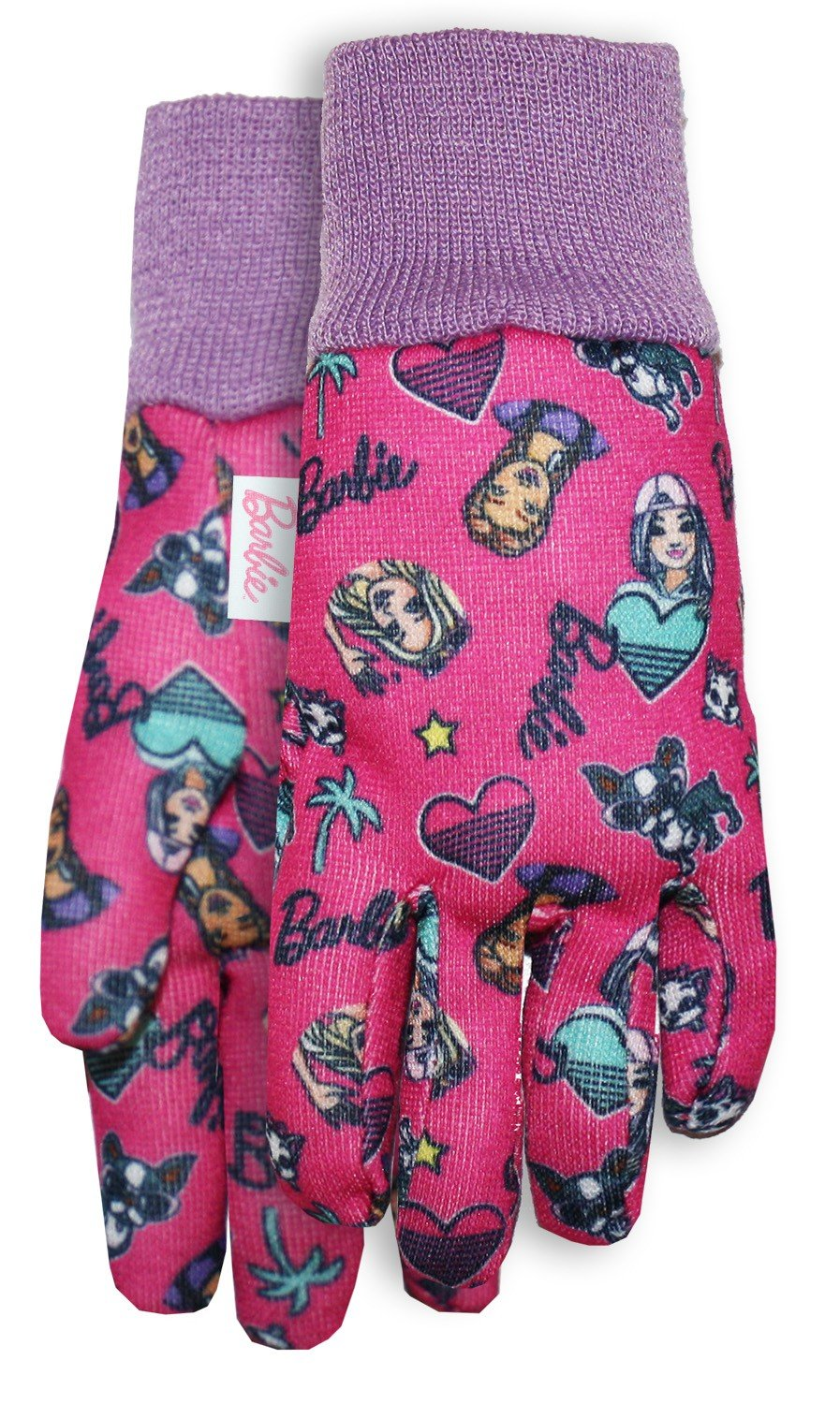 Midwest Quality Gloves 215477 Barbie Toddler Size Jersey Gloves