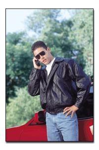 Maxam® Maxam® Design Genuine Top Grain Lambskin Leather Jacket - Medium