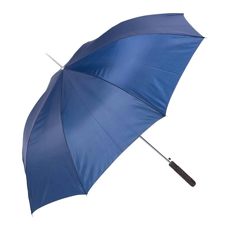 All-Weather 48 Inch Polyester Auto Open Umbrella - Navy
