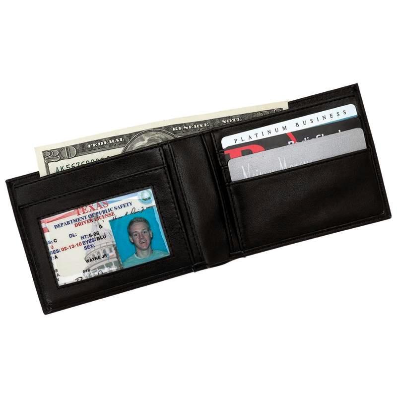 Embassy LULWAL17 Embassy Men's Genuine Leather Bi-Fold Wallet