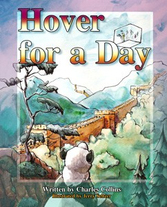 Big Tent Books BTB001 Hover for A Day By Charles Collins - 56 Pages