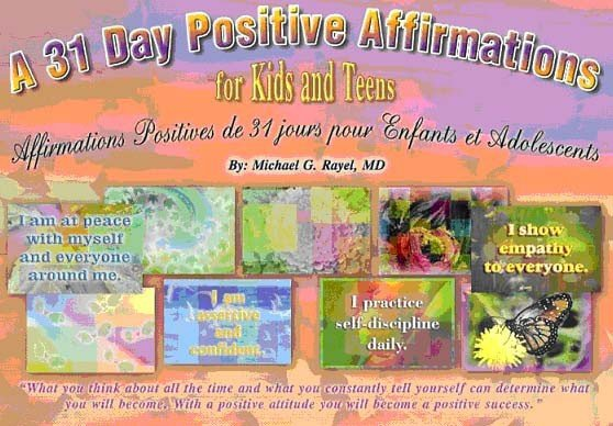 Oikos Global OG1005 A 31-Day Positive Affirmations for Kids and Teens