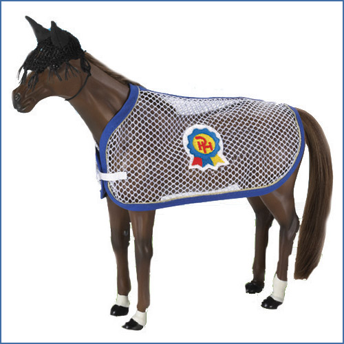 Paradise Horses Q405 Fly Bonnet and Fly Sheet PRDSH027